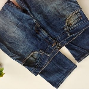 Old Navy.100 cotton blue jean Sz 36 x30